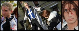 Seifer and Squall by DocSkavenger