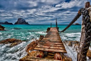 Ibiza jetty 1 by forgottenson1