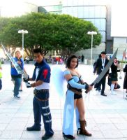 Rinoa and Squall cosplay 2011 by daggert6