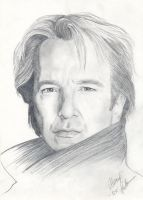 Alan Rickman by Yumeartist