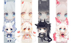 [CLOSED] Adoptables: Rosary XXIX - XXXII by Staccatos