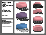 MMD - Helmhat by raymhey