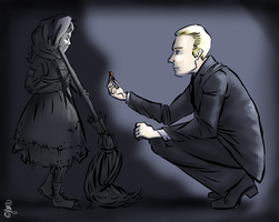 Pendergast and Constance by kynliod
