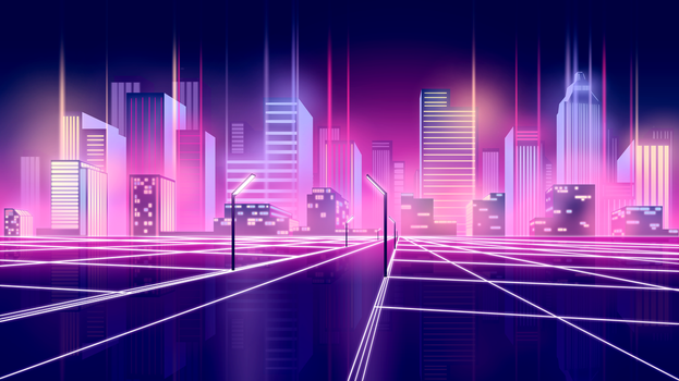 New Wave City by Huggbees