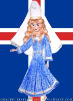 Ladies of the World: Iceland by GracefulTatiana1897