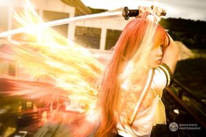 Flame-Haired Red-Hot-Eyed Hunter, Shana by Kurai-Hisaki
