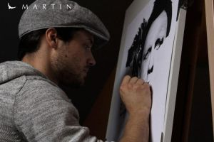 .: The girl with the dragon tattoo ~ WIP III :. by Martin--Art