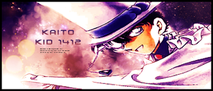 Kaito Kid by crystalcleargfx
