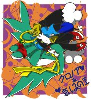 King of Sorrow and Klonoa by zzoza