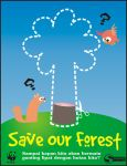 poster: Save Our Forest by pangketepang