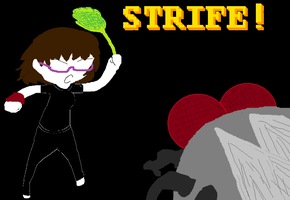 Taylor:STRIFE with the House Fly! by pikachu1452