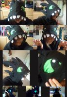 HTTYD: Toothless Hoodie by HCHughes