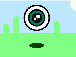Eye Bounce Animation by LiquidFrogStudios