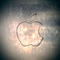 iPad Apple Wallpaper Metal by thekingofthevikings