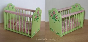 Dollhouse Baby Bed by RevelloDrive1630