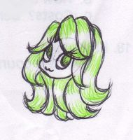 Limey Hair by mashaheart