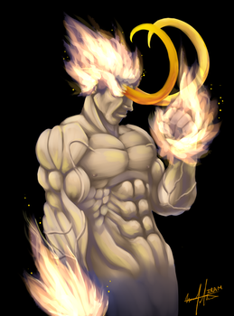 FLAME FIST ON by LoveOrBeKilled