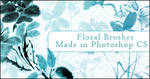 Floral Brushes by princesspeach0221