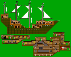 HoPA - Pirate Ship Tilesheet by PiratesAdventure