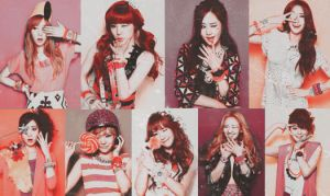 Coloring SNSD #2 by Pep by lapep999