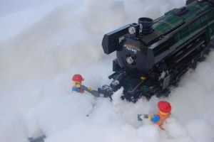 Digging the Engine Out by DrChrisman