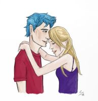 Teddy and Victoire by fishbizkit