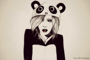 Ruki - Inside panda :P by KanonKunNyappy