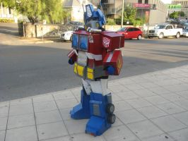 Optimus Prime Cosplay by ShadowMaginis