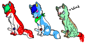 5Pt Adopts-CLOSED by Wolfies--Adopts