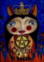 Queen Of Pentacles by thefantasim