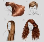 Hair Studies by Wraeclast