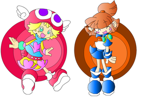 Amitie and Arle Channel by extremesonic101