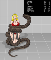 Lauren Snake Peril 1 by Woo-Plays