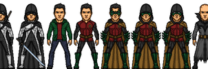 DCCU Damian Wayne by BAILEY2088