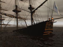 The Sinking of the SS Romney by DarkRiderDLMC