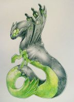 Zygarde by Silverbirch