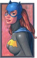 Batgirl by ssava