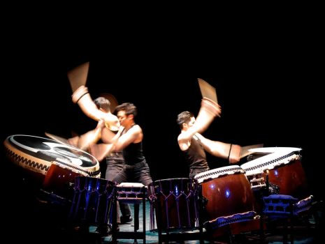 Kodo Musical Theather Chatelet Paris France 01 by orphoe