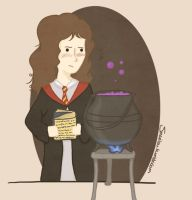 Hermione by Marilouuu