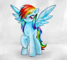 Rainbow Dash by MunaDrake