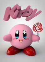 Kirby by The3DLeopard