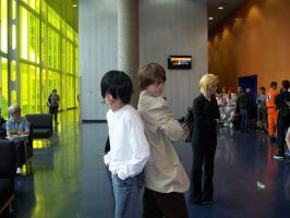 L and Light Yagami - Otakuthon 2014 by J25TheArcKing
