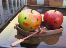 Mr. Apple Boating lake by StephiPhotography