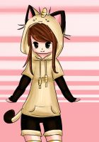 Meowth Hoodie by Shourei