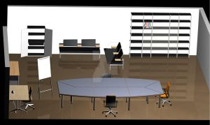3D Office Design by jamie-lewis
