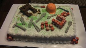 Construction Cake by kast43