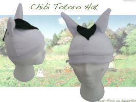 Chibi Totoro Fleece Hat by Demi-Plum