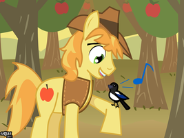 Braeburn: Popular Pony by Kadjule