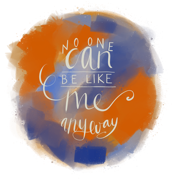 Request: No one can be like me anyway by request-art