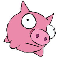 Pig by LiluPooka